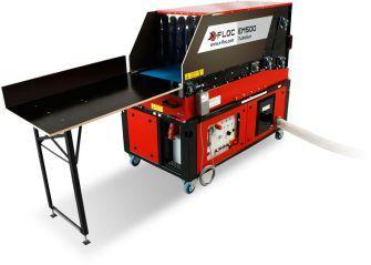EM500 Einblasmaschine - Wydajna maszyna dowdmuchiwania zautomatycznym podajnikiem materiału - derowerk