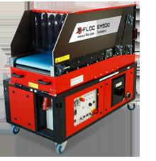 EM500 - Wydajna maszyna dowdmuchiwania zautomatycznym podajnikiem materiału - derowerk