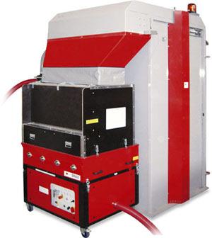 GBF1050 - Komora technologiczna - Maszyna x-floc do wdmuchiwania materialow izolacyjnych - derowerk