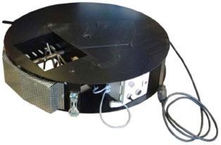 Haeckselwerk M95 - nadstawka doprzetwarzania izolacji - maszyna x-floc dowdmuchiwania materialow izolacyjnych - derowerk