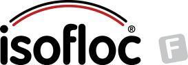 Isofloc f - ochrona przedwilgocia - termoizolacja - logo isofloc f - derowerk