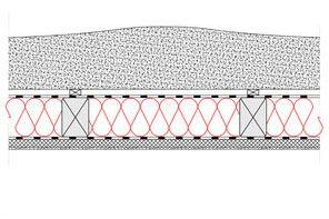Obliczenia iprzekroje budowlane - isofloc f - dachy - dach wentylowany - pokrycie strzecha - krokwie oprzekroju prostokatnym - derowerk