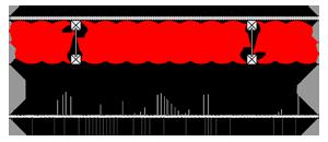 Ocieplenia poddaszy - Strop ST4 - podpoddaszem nieogrzewanym - podloga nadwuteowych legarach drewnianych - warstwa izolacji wdmuchnieta miedzy legary - strop gestozebrowy - derowerk