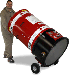 Zellofant M95 - Podstawowa maszyna dowszystkich metod wdmuchiwania izolacji - derowerk