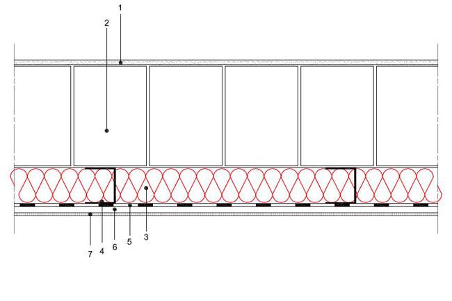 Obliczenia iprzekroje budowlane - isofloc f - sciany - sciana warstwowa - warstwa konstrukcyjna zbloczkow YTONG - warstwa izolacji isofloc f odwewnatrz - elewacja niewentylowana - S7 - derowerk