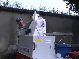 Maszyny dowdmuchiwania-EMX 250