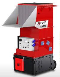 EM300 - Maszyna x-floc dowdmuchiwania materiałów izolacyjnych - Potężna wydajność wkompaktowej formie - derowerk