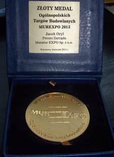 Derowerk Złoty Medal Murexpo