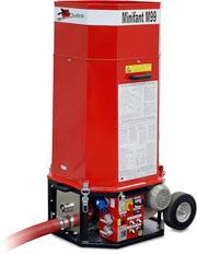 Ocieplenie poddasza idachu - kompendium - maszyna dowdmuchiwania ocieplen Minifant M99 DS - derowerk