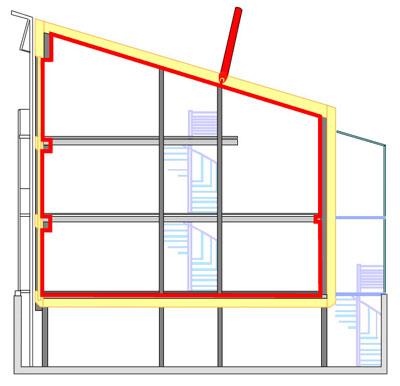 Szczelność powietrzna budynku – Test Blower Door - Weryfikacja wiatroizolacji i szczelności powietrznej budynku na etapie projektowym - Derowerk