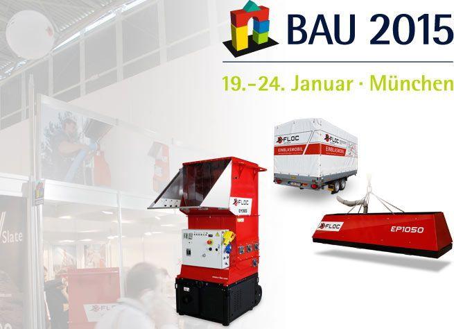 Maszyny do wdmuchiwania X-Floc na Targach BAU w Monachium