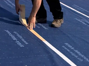 Nail Sealing Tape II - wodoodporma tasma podkontrlaty uszczelniajaca przebicia membran dachowych - wskazowki wstep - derowerk - more