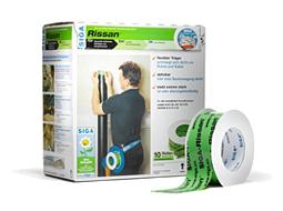 Rissan 60 to jednostronna i elastyczna taśma do uszczelniania przejść rur oraz kabli itp. przez warstwę izolacji parochronnej