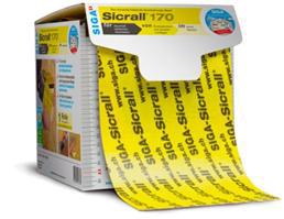 Sicrall 170 - jednostronnie klejaca tasma parochronna oszerokosci 170mm dozaklejania otworow powdmuchiwaniu izolacji - zdjecie wstep - derowerk
