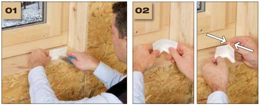 Corvum 12/48 - jednostronna tasma douszczelniania ram okiennych idrzwiowych - okno wbudowane wsciane 1 - derowerk