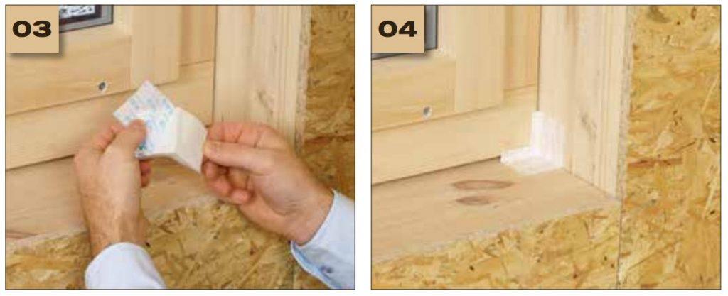 Corvum 12/48 - jednostronna tasma douszczelniania ram okiennych idrzwiowych - okno wbudowane wsciane 2 - derowerk