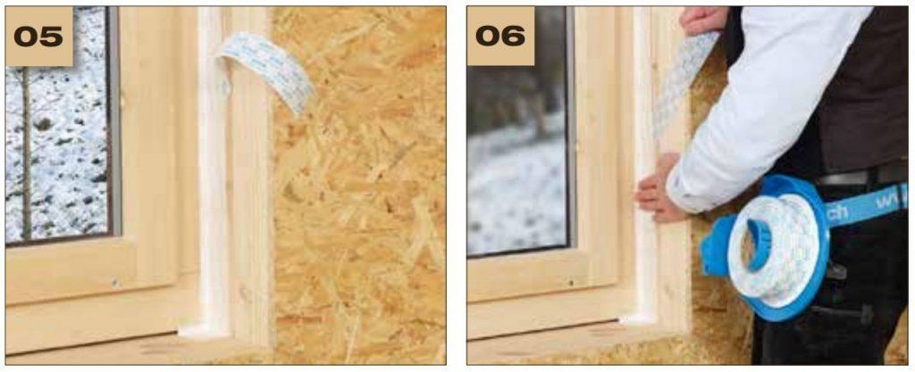 Corvum 12/48 - jednostronna tasma douszczelniania ram okiennych idrzwiowych - okno wbudowane wsciane 3 - derowerk