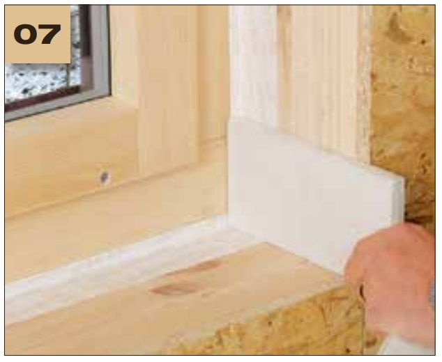 Corvum 12/48 - jednostronna tasma douszczelniania ram okiennych idrzwiowych - okno wbudowane wsciane 4 - derowerk