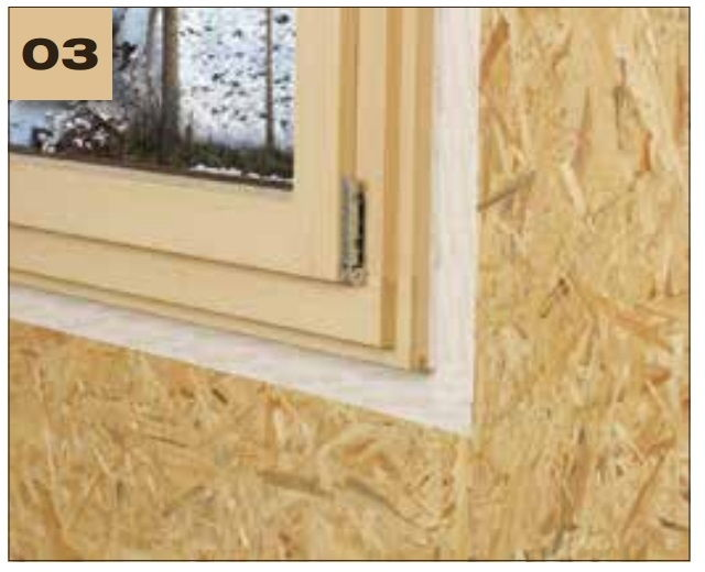 Corvum 12/48 - jednostronna tasma douszczelniania ram okiennych idrzwiowych - okno wystajace poza lico sciany 2 - derowerk