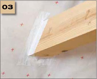 Corvum 30/30 - tasma douszczelniania narozy, oscieznic, polaczen okien zizolacja parochronna wewnatrz budynku - sposob uzycia 3 - derowerk