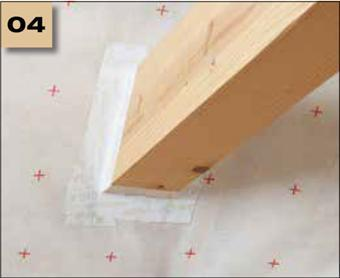 Corvum 30/30 - tasma douszczelniania narozy, oscieznic, polaczen okien zizolacja parochronna wewnatrz budynku - sposob uzycia 4 - derowerk