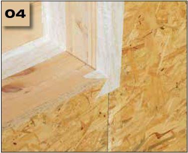 Corvum 30/30 - tasma douszczelniania narozy, oscieznic, polaczen okien zizolacja parochronna wewnatrz budynku - sposob uzycia naroza wypukle 4 - derowerk