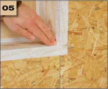 Corvum 30/30 - tasma douszczelniania narozy, oscieznic, polaczen okien zizolacja parochronna wewnatrz budynku - sposob uzycia naroza wypukle 5 - derowerk