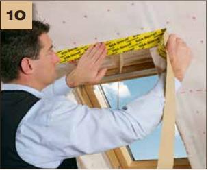 1Corvum 30/30 - tasma douszczelniania narozy, oscieznic, polaczen okien zizolacja parochronna wewnatrz budynku - sposob uzycia okna dachowe 10 - derowerk