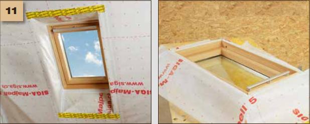 Corvum 30/30 - tasma douszczelniania narozy, oscieznic, polaczen okien zizolacja parochronna wewnatrz budynku - sposob uzycia okna dachowe 11 - derowerk