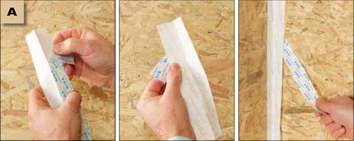 Corvum 30/30 - tasma douszczelniania narozy, oscieznic, polaczen okien zizolacja parochronna wewnatrz budynku - sposob uzycia warstwy zabezpieczajacej doprostego iszybkiego montazu - derowerk
