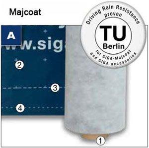 Majcoat - wytrzymala paroprzepuszczalna membrana dachowa - wskazowski zdjecie - derowerk - more