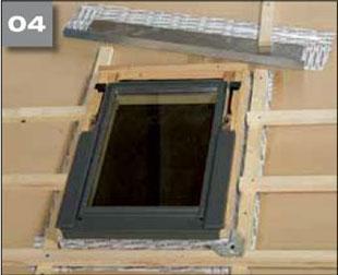 Wigluv 100/150 - jednostronna szeroka tasma klejaca douszczelniania zewnetrznych polaczen iprzebic wmiejscach osobliwych - okna dachowe 4 - derowerk