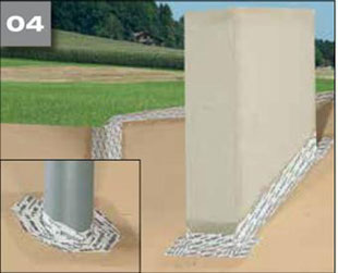 Wigluv 100/150 - jednostronna szeroka tasma klejaca do uszczelniania zewnetrznych polaczen i przebic w miejscach osobliwych - zabezpieczenie przed penetracja wody 4 - derowerk