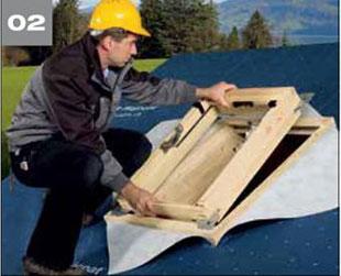 Wigluv 60 - jednostronna tasma dolaczenia zakladow membran dachowych isciennych orazuszczelniania polaczen iokien - okna dachowe 2 - derowerk