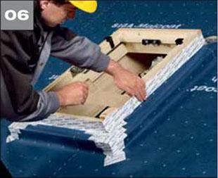Wigluv 60 - jednostronna tasma dolaczenia zakladow membran dachowych isciennych orazuszczelniania polaczen iokien - okna dachowe 6 - derowerk