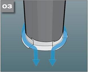 Wigluv 60 - jednostronna tasma dolaczenia zakladow membran dachowych isciennych orazuszczelniania polaczen iokien - zabezpieczenie przedpenetracja wody 3 - derowerk