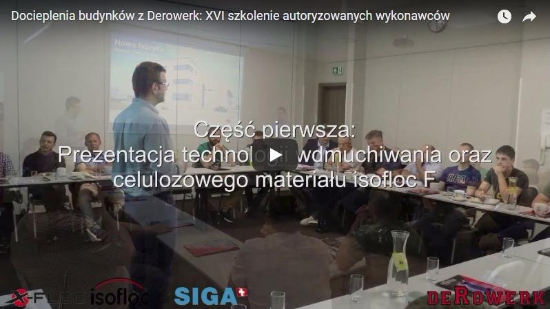 Docieplenia budynków z Derowerk: XVI szkolenie autoryzowanych wykonawców