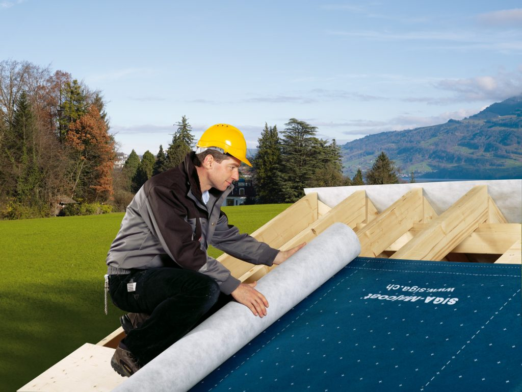 Majcoat Wytrzymała paroprzepuszczalna membrana dachowa