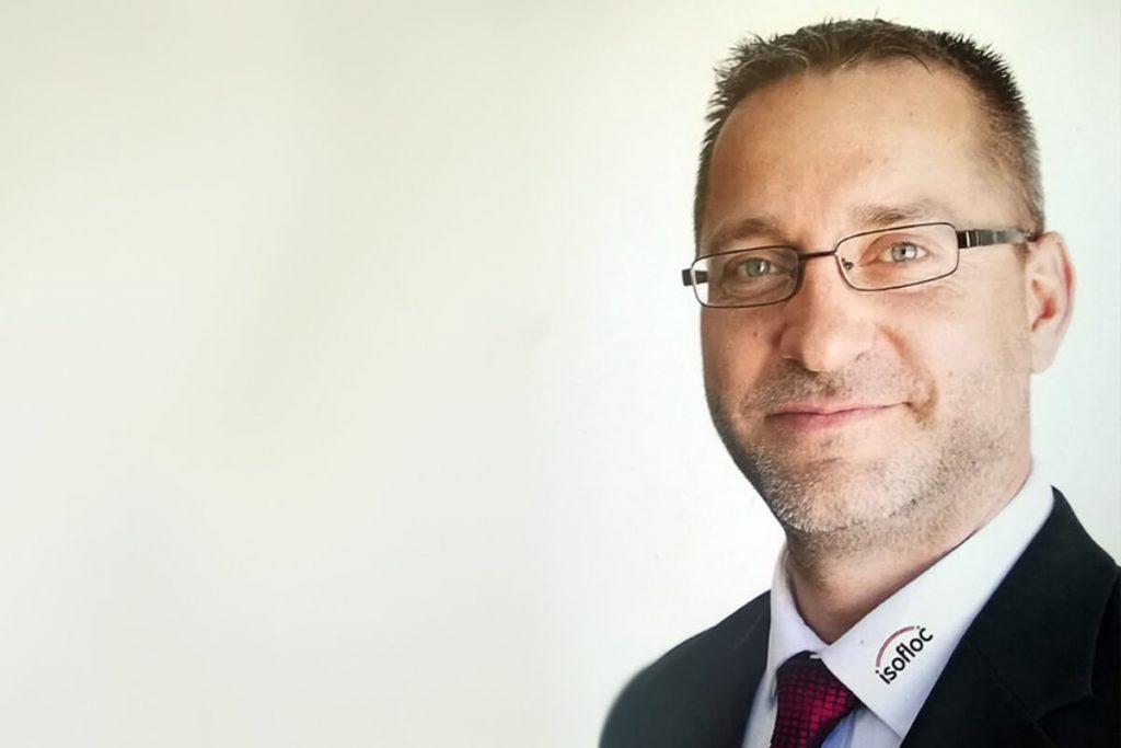 Raiko Stieler, CEO isofloc Dämmstatt GmbH