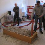 Wiosenne szkolenie ztechnik wdmuchiwania wełny celulozowej isofloc F