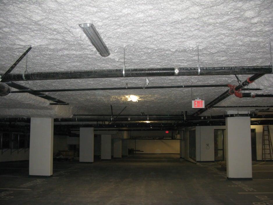 Strop nadpiwnicą lub garażem podziemnym Derowerk