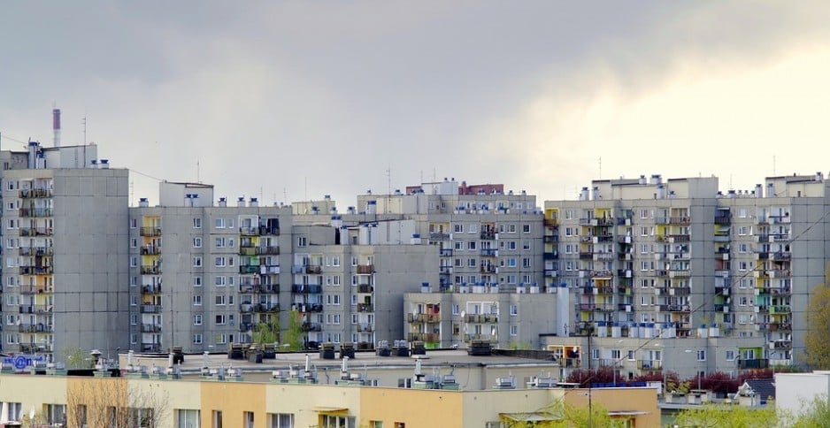 Stropodach betonowy Ocieplenie