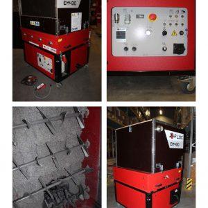 Używana Maszyna Do Wdmuchiwania EM430 - 400V 9,5 KW - Maszyna Laboratoryjna Z Funkcją DS Do Pełnej Integracji Z Płytą Instalacyjną