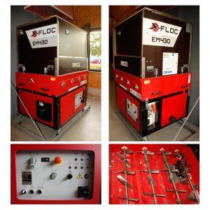 Używana Maszyna Do Wdmuchiwania EM430 - 400V 9,5 KW - Maszyna Laboratoryjna Z Funkcją DS Do Pełnej Integracji Z Przemysłowym Systemem Zasypu