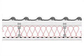 Obliczenia i przekroje budowlane - dachy - dach wentylowany - pokrycie ceramiczne - krokwie dwuteowe - derowerk
