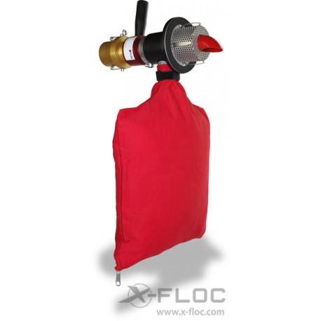Wentylowane dysze obrotowe X-Jet 63 for insulation thickness 40-300 mm