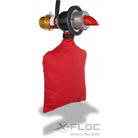 Wentylowane dysze obrotowe X-Jet 75 for insulation thickness 120-400 mm