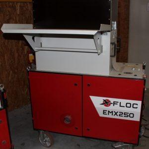 Używana maszyna do wdmuchiwania EMX250 ze specjalną dmuchawą
