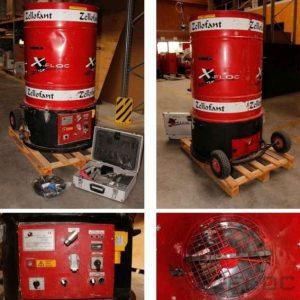 Używana maszyna do wdmuchiwania Zellofant M95-230V 3,6kW