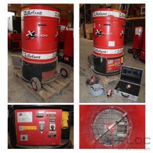 Używana maszyna do wdmuchiwania Zellofant M95-230V 4,2kW